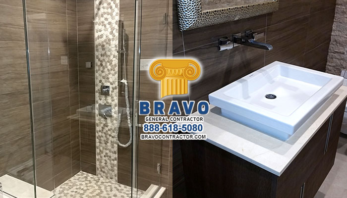 Sensational Bathroom Remodeling And Finishing Brooklyn Bravo General Beutiful Home Inspiration Semekurdistantinfo