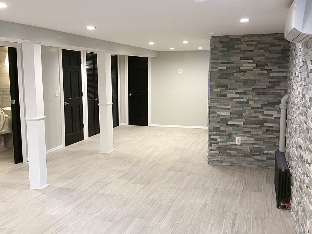 Basement Remodeling Boston queens basement finishing and remodeling contractor services